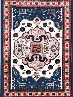 Kazak Newton 42″x 60″ Skeins-78