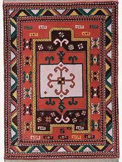 Kazak Prayer 36″x 48″ Skeins-56
