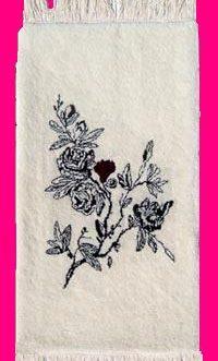 Blossom Toile  22″x 36″  Skeins-20