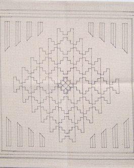 SW Saltillo Pillow 20″ x 20″  Skeins-16