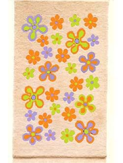 Scattered Daisy 33″x 55″  Skeins-55