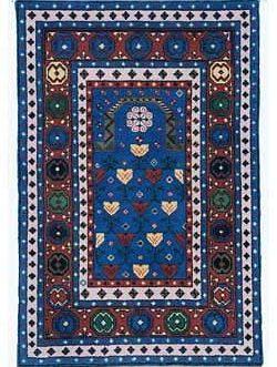 Genghas Prayer  37″x 56″  Skeins-63