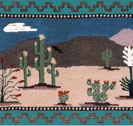Desert Springtime 19″ x 29″   Skeins-25