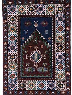 Anatolian Prayer 42″x 60″  Skeins-77